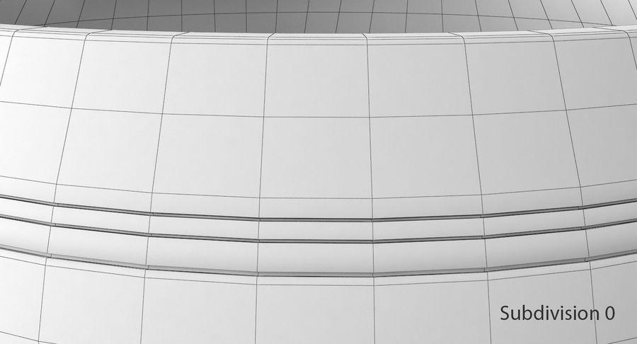 Sjungande skål royalty-free 3d model - Preview no. 11