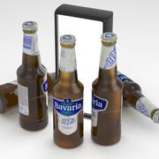巴伐利亚啤酒瓶0.0%智慧330ml 3d model