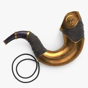 Battle Horn 3d model