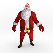 Santa Claus Rigged Character 3d model