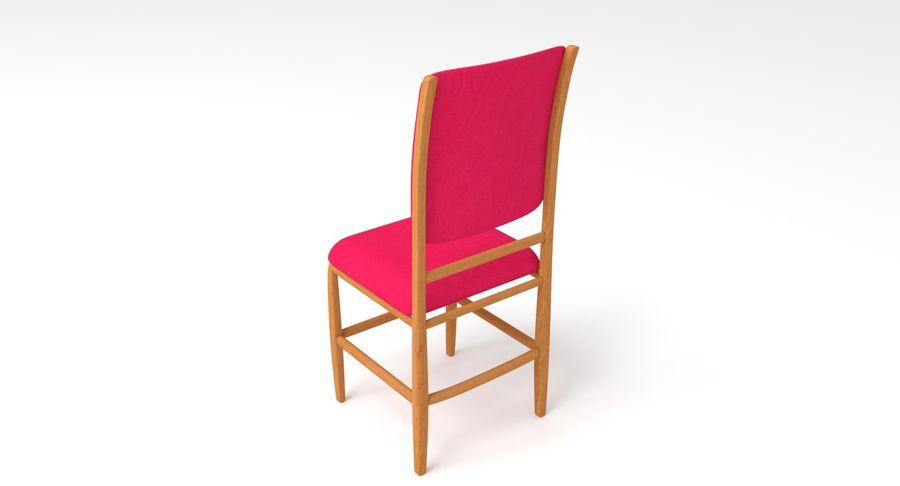Proste krzesło royalty-free 3d model - Preview no. 14