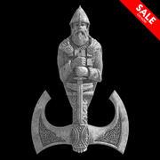 Stone Warrior 3d model