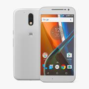Motorola Moto G4 White 3Dモデル 3d model