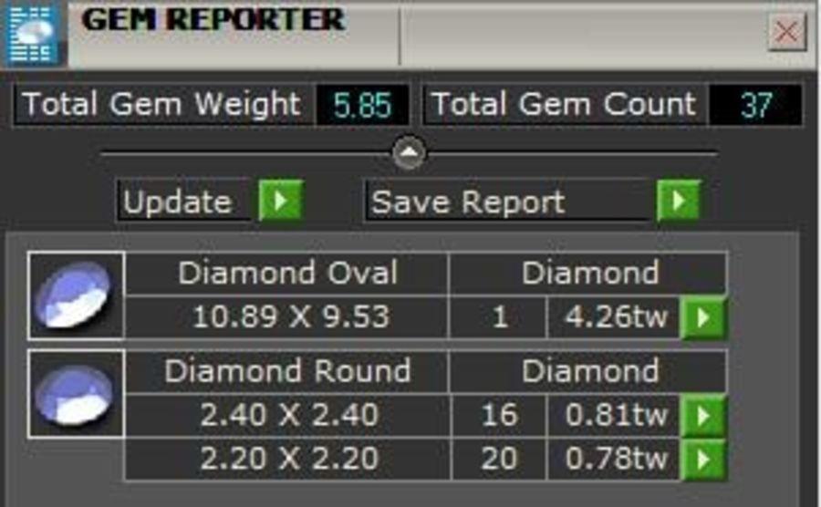 Bisel anillo de vástago dividido royalty-free modelo 3d - Preview no. 5