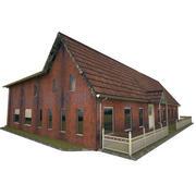 殖民屋 3d model