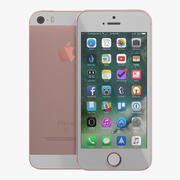 iPhone 3D Rose Gold modelo 3D 3d model