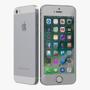modelo 3D cinzento para iPhone SE 3d model
