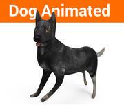 犬のアニメーション 3d model