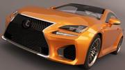 レクサスRC F 2015 3d model
