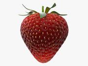 딸기 3d model