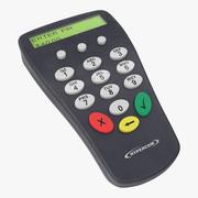 Pin Pad 3d model