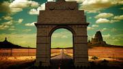 Portão da Índia 3d model