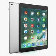 Apple iPad Space Grey 3d model