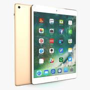 Apple iPad Gold modelo 3d