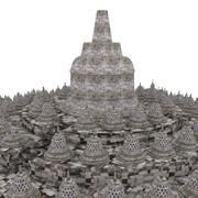 Borobudur Temple 3d model