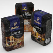 Coffe package Tchibo 500g collection 3d model