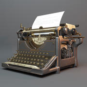 Underwood Typerwriter 3d model