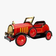 Vieille voiture de jouet 3d model