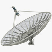 Antena parabólica Big V5 modelo 3d
