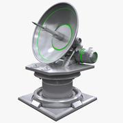 Sci-fi Antenna 3d model