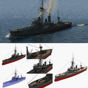 HMS Dreadnought 3d model