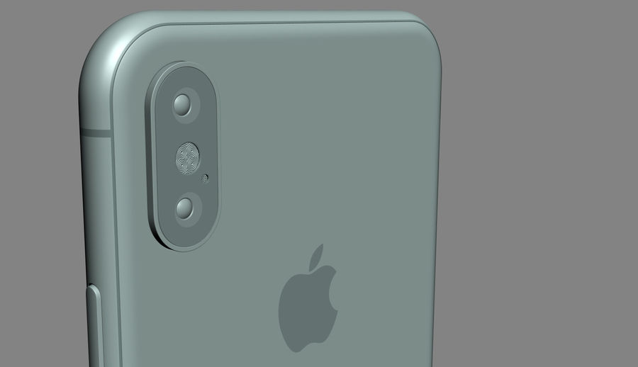 iPhone XおよびiPhone XS royalty-free 3d model - Preview no. 26