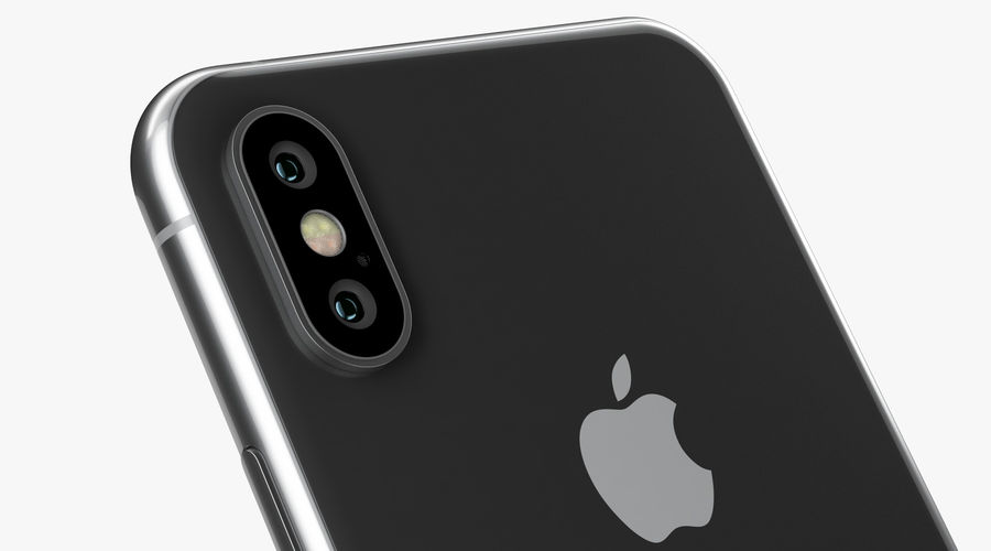 iPhone XおよびiPhone XS royalty-free 3d model - Preview no. 41