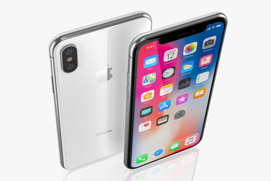 iPhone XおよびiPhone XS royalty-free 3d model - Preview no. 5