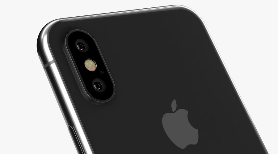 iPhone XおよびiPhone XS royalty-free 3d model - Preview no. 18