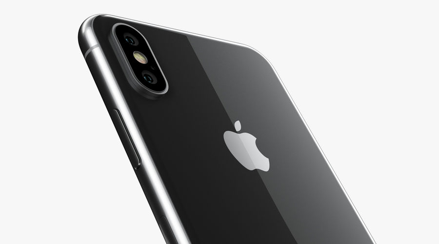 iPhone XおよびiPhone XS royalty-free 3d model - Preview no. 39
