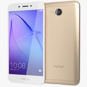 Honor 6A Gold 3d model