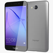 Honor 6A Grey 3d model