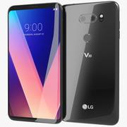 LG V30 Aurora Black 3d model