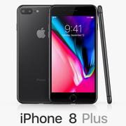 iPhone 8 Plus 3d model