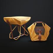 stool_louis_vuitton_objet_nomades 3d model
