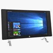 HP ENVY 24qe Touch All In One Desktop PC 3d model