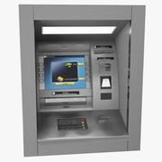 Opgezette ATM-machine 3d model