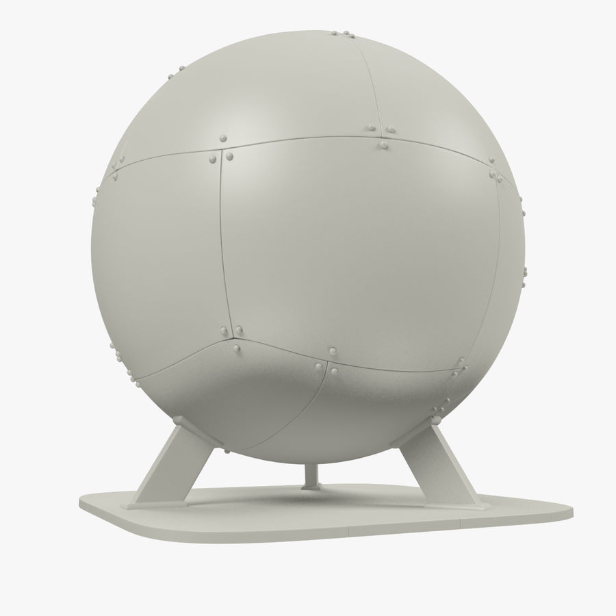 Satellietschotel Set royalty-free 3d model - Preview no. 49