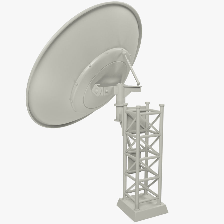 Satellietschotel Set royalty-free 3d model - Preview no. 21