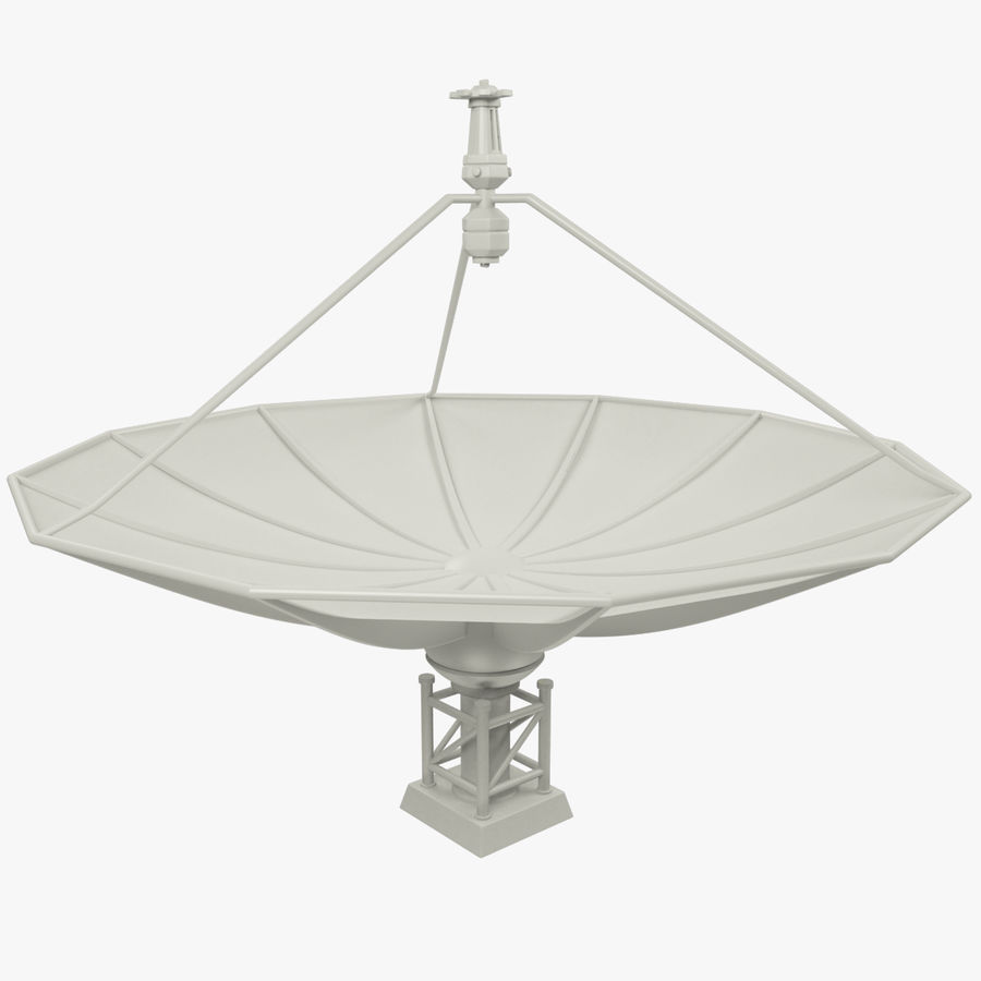 Satellietschotel Set royalty-free 3d model - Preview no. 28