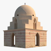 Arabisch islamitisch gebouw 3d model