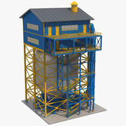工业零件6 3d model