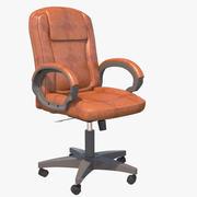 Klassisk kontorsstol 3d model