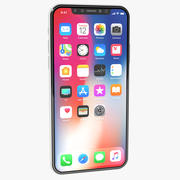 Apple iPhone X Wit 3d model
