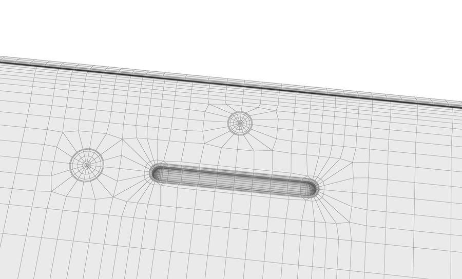 Apple iPhone 8 Gümüş royalty-free 3d model - Preview no. 29