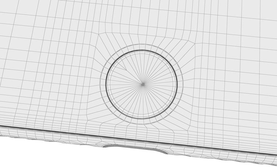 Apple iPhone 8 Gümüş royalty-free 3d model - Preview no. 28
