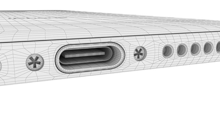 Apple iPhone 8 Gümüş royalty-free 3d model - Preview no. 34