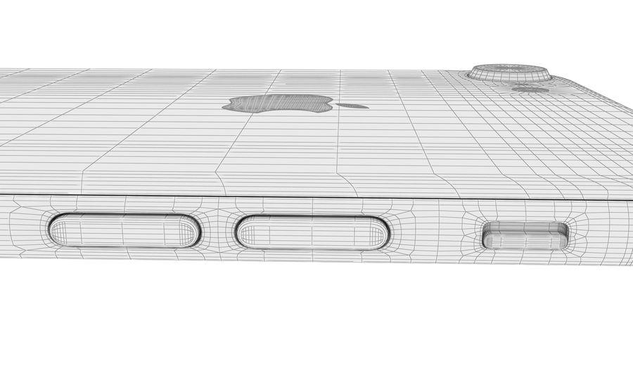 Apple iPhone 8 Gümüş royalty-free 3d model - Preview no. 31