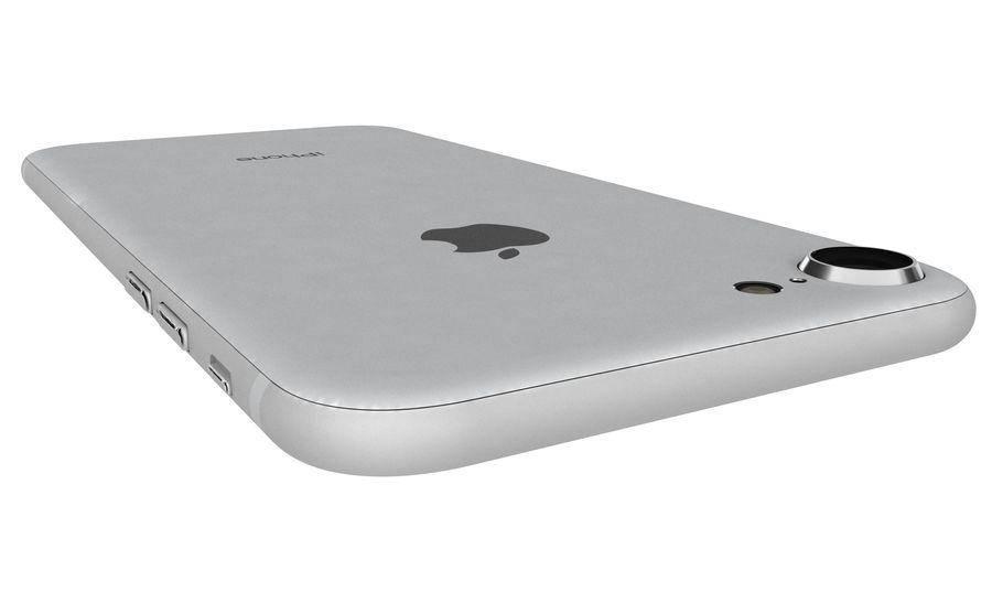 Apple iPhone 8 Gümüş royalty-free 3d model - Preview no. 21