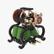 Antique Electro Magnetic Engine 3d model